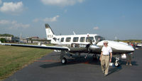 N72LK @ HFD - At the AOPA Expo...