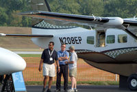 N208EP @ HFD - At the AOPA Expo... - by Stephen Amiaga
