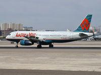 N674AW @ KLAS - America West Airlines / 2005 Airbus A320-232
