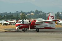 C-GHDY @ CYXX - Firefighter aircraft from Conair at the 2006 Abbotsford Airshow - by Michel Teiten ( www.mablehome.com )