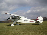 N110XZ @ IA27 - Aviat's Monocoupe 110 spl stops by Antique Airfield for a visit - by BTBFlyboy