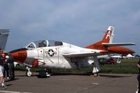 158580 @ DVN - T-2C at the Quad Cities Air Show - by Glenn E. Chatfield