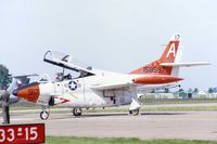 158597 @ DVN - T-2C at the Quad Cities Air Show - by Glenn E. Chatfield