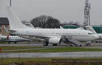 N2121 @ EGGW - Executive BBJ at Luton - by Terry Fletcher