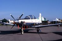 165963 @ DVN - Texan II at the Quad Cities Air Show - by Glenn E. Chatfield