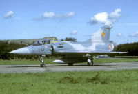 34 @ EHLW - In September 1988 a couple of French Mirage 2000s came in for a lunch stop. These aircraft are not often seen in the Netherlands. - by Joop de Groot