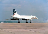 G-BOAF @ CNW - Concorde at Texas Sesquicentennial Air Show 1986 - by Zane Adams