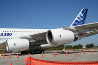 F-WWJB @ MCO - A380 giant engines