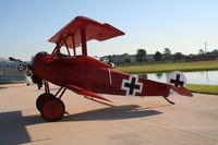 N2009V @ FA08 - DR-1 Triplane
