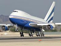 VP-BLK @ KLAS - Las Vegas Sands Corp. - Las Vegas, Nevada / 1979 Boeing 747SP-31