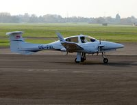 OE-FAL @ EGBJ - Austrian registered Diamond Star at Gloucestershire (Staverton) Airport