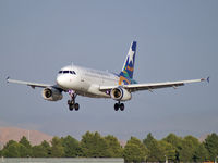 N822AW @ KLAS - US Airways - 'Nevada' / 2000 Airbus Industrie A319-132
