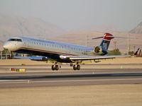 N914FJ @ KLAS - US Airways Express / 2004 Bombardier Inc CL600-2D24
