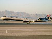 N914FJ @ KLAS - US Airways Express / 2004 Bombardier Inc CL600-2D24 - by Brad Campbell
