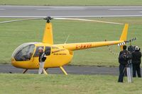 G-BWVH @ FFD - Royal International Air Tattoo 2007 (with David Jason as Del Boy and aircraft as Trotters Independant Traders) - by Steve Staunton