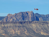 UNKNOWN @ KLAS - Red Rock Canyon in background