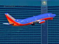 N505SW @ KLAS - Southwest Airlines / 1990 Boeing 737-5H4