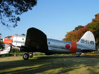 91-1145 @ RJTJ - C-46 Commando/Iruma base collection - by Ian Woodcock
