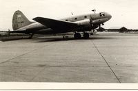 B-146 @ BKK - Air America C-46F at BKK Don Muang Airport,June 1966.Aircraft w/o Tan Son Nhut AFB,Sep.1966 - by metricbolt