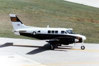 67-18056 @ DPA - U-21A 67-18056 when still active Army - by Glenn E. Chatfield
