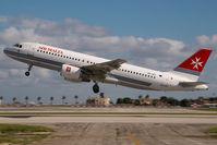 9H-AEO @ LMML - Air Malta Airbus 320