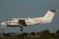 5A-DDT @ LMML - Libyan Air Ambulance Beech 200 King Air