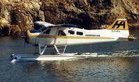 C-FJFQ @ CYWH - Harbour Air Beaver at Victoria Harbour
