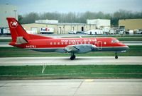 N407XJ @ DTW - Workhorse of the NorthWest Airlink fleet