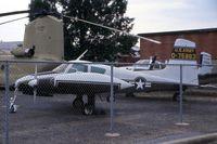 57-5863 - U-3A at the Army Aviation Museum storage yard - by Glenn E. Chatfield