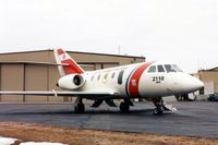 2110 @ CID - HU-25 at the Rockwell-Collins ramp - by Glenn E. Chatfield