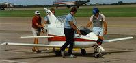 N177RB @ CNW - BD-5J - Texas Sesquicentennial Air Show 1986