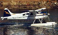 C-FWCA @ YWH - West Coast Air's Beaver at Victoria Harnour
