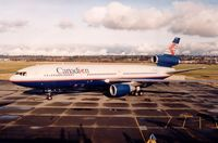 C-GCPI @ CYVR - 907 in the late 90s - by metricbolt