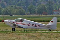 D-KAQI @ LSZG - Sportavia-Fournier RF4D on taxiway - by eap_spotter