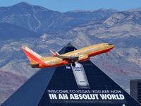 N728SW @ KLAS - Southwest Airlines / 1999 Boeing 737-7H4