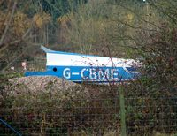 G-CBME @ EGBD - fuselage minus tail noted at Derby - by Terry Fletcher