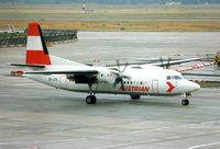 OE-LFB @ EDDF - Austrian Airlines Fokker 50 subsequently became PH-FZJ and then SU-AYH