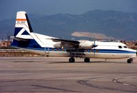 EC-BOC @ LEPA - Fokker 27 (cn 10353) in old Aviaco colours - subsequently operated in Cuba as CU-T1291