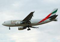 A6-EFA @ LEBL - Clear to land RWY 25R. - by Jorge Molina