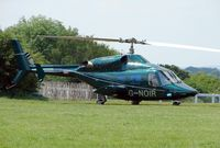 G-NOIR - Helicopters arrive at the temporary Heliport on 2007 Epsom Derby Day (Horse racing)