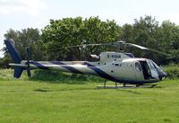 G-WHAM - Helicopters arrive at the temporary Heliport on 2007 Epsom Derby Day (Horse racing)