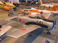 63-0581 - T-28B/Hamamatsu,JASDF Museum,Preserved - by Ian Woodcock