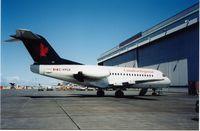 C-FPCR @ CYVR - Canadian Regional F28 in Air Canada livery,Jun.2002 - by metricbolt