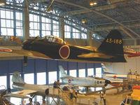 43-188 - Mitsubishi A6M-5A Zero/Hamamatsu,JASDF Museum,Preserved - by Ian Woodcock