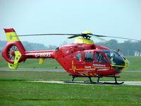 G-WMAS @ EGWC - EC135 at Cosford