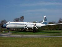 G-AOVF @ EGWC - Classic Aircraft at RAF Cosford Museum