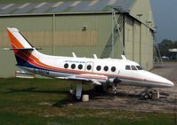 G-BBYM @ EGWC - Retired HP137 Jetstream  at RAF Cosford