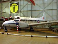 VP952 @ EGWC - DH104 Devon C2 inside RAF Cosford Museum