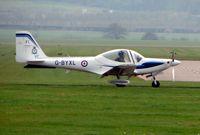 G-BYXL @ EGWC - Grob Trainer at RAF Cosford