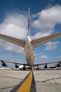 ZS-OSI @ MLA - African International DC8-62